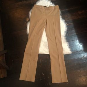 NWT j.crew campbell trouser in 2 way stretch sz 6T